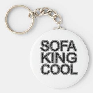 Coolソファー王のおもしろいなおもしろいの女の子の人の人 キーホルダー