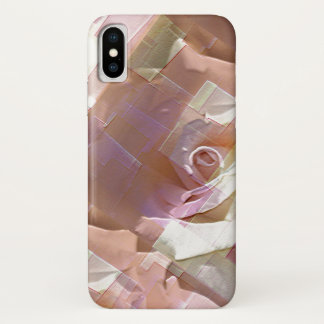 Cool Abstract Roses iPhone X ケース