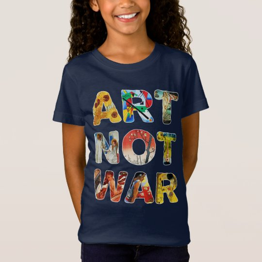 Cool Art Not War Famous Artists For Peace Funny Tシャツ
