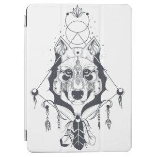 cool dog design art iPad air カバー