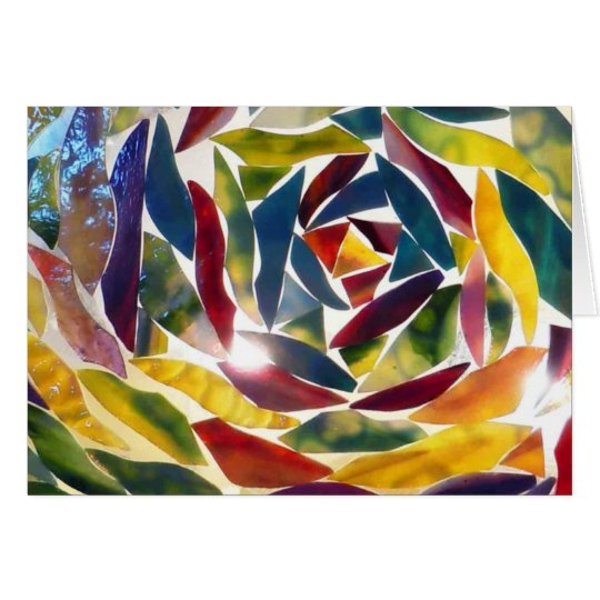 Cool Fine Art Glass Picture Card カード
