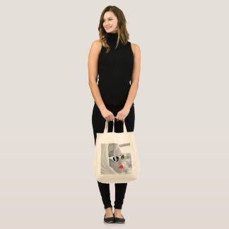 Cool Retro Jumbo Lady Face  Tote For Beach トートバッグ