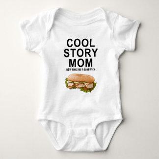 cool storyのお母さん ベビーボディスーツ