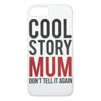Cool storyのミイラは、それを再度言いません iPhone 8/7ケース