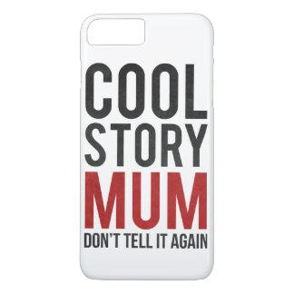 Cool storyのミイラは、それを再度言いません iPhone 8 plus/7 plusケース