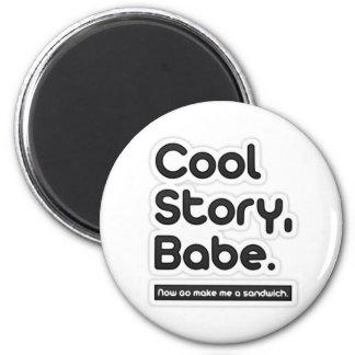 Cool storyの可愛い人は、今します私にサンドイッチ-磁石--を行きます マグネット