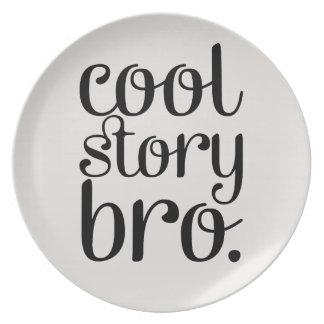 Cool storyのBroのクリーム プレート