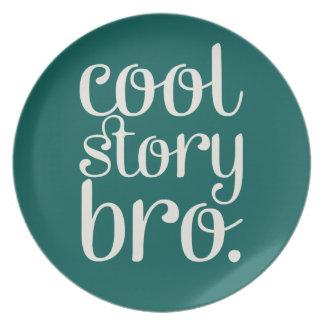 Cool storyのBroの緑 プレート