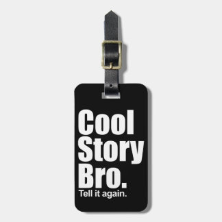 Cool storyのBroの荷物のラベル ラゲッジタグ