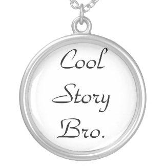 Cool storyのBroネックレス シルバープレートネックレス