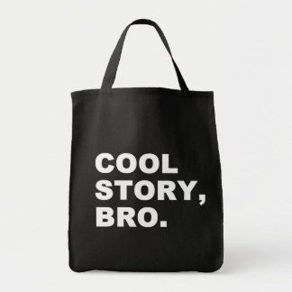 Cool story bro トートバッグ