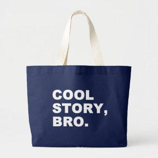 Cool story bro ラージトートバッグ