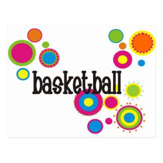 coolpolkadotsバスケットボール10x10 version4 ポストカード