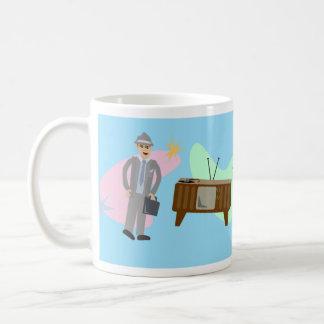 Coolsvilleのうねりのライフスタイル コーヒーマグカップ