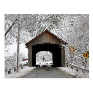 Coombsの屋根付橋 ポストカード