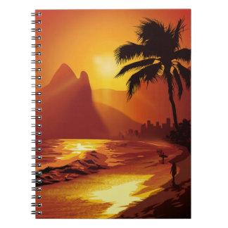 Copacabanaのビーチのノート ノートブック