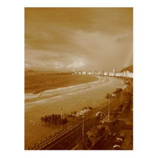 Copacabanaのビーチ*リオ*ブラジル ポストカード