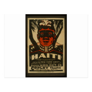 Copleyの劇場のハイチ、 ポストカード