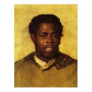 Copley著黒人の頭部 ポストカード