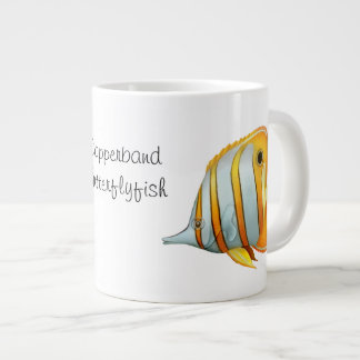 CopperbandのButterflyfishの専門のマグ ジャンボコーヒーマグカップ