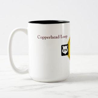 Copperheadのループマグ ツートーンマグカップ