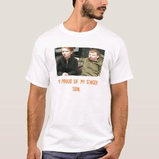 coppermom1、私は私のショウガの息子の誇りを持ったです tシャツ