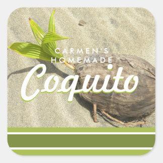 Coquitoのココナッツ スクエアシール