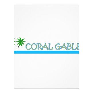 Coral Gables レターヘッド