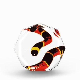 Coralilloのヘビ 表彰盾