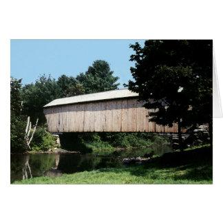 Corbinの屋根付橋 カード