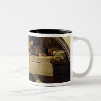 CorcelletのためのAu Gourmand',の店の印 ツートーンマグカップ