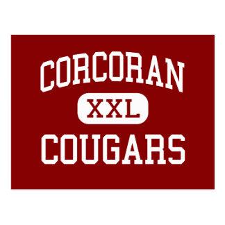 Corcoran -クーガー-高シラキュースニューヨーク ポストカード