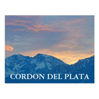 Cordon Del Plata ポストカード