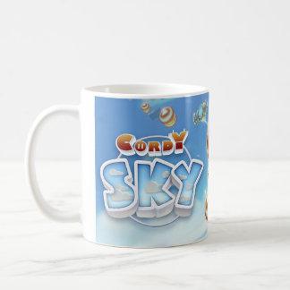 Cordyの空の特徴のイメージのマグ コーヒーマグカップ