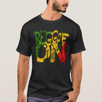 Cori Reithのラスタのレゲエのラスタの人音楽落書き Tシャツ
