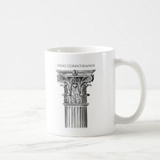 Corinthian発注のコラムのマグ コーヒーマグカップ