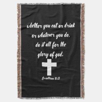 Corinthiansの10:31 スローブランケット