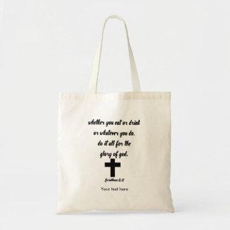 Corinthiansの10:31 トートバッグ