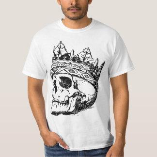 Coroa e Caveira Tシャツ