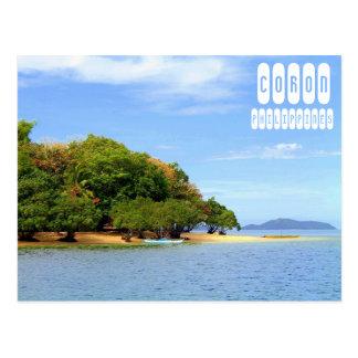 Coronのビーチ ポストカード