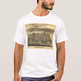 Coronadoのビーチサンディエゴカリフォルニア(1880年) Tシャツ