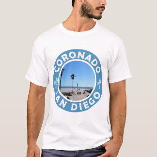 CORONADOのビーチサンディエゴ Tシャツ