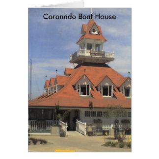 Coronadoのボートハウス カード