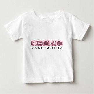Coronadoカリフォルニア-手紙 ベビーTシャツ