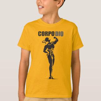 Corpo Dioのオレンジ Tシャツ