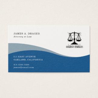 Corporate Business Card : Blue Wave 名刺