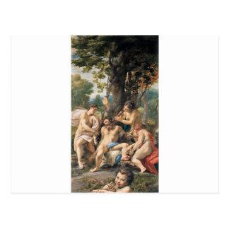 Correggio著悪のアレゴリー ポストカード