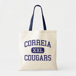 Correia -クーガー-後輩-サンディエゴカリフォルニア トートバッグ