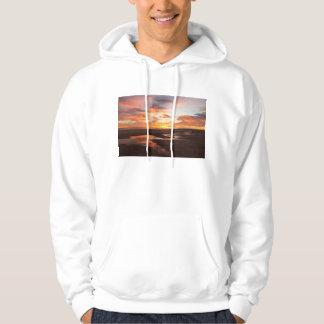 Cortezの海の日没 パーカ