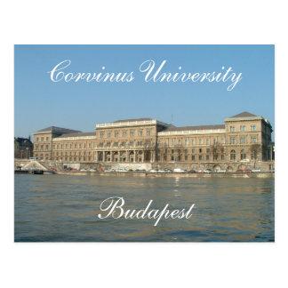 Corvinus大学 ポストカード